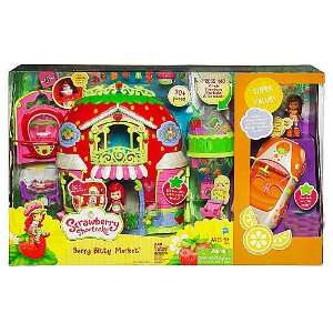 com Strawberry Shortcake Bitty Berry Market Playset with Bonus Orange