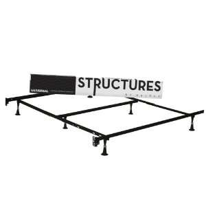 Heavy Duty 6 Leg LINENSPA Adjustable Metal Bed Frame with Double