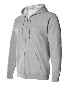 Gildan Heavy Blend Full Zip Hooded Sweatshirt, Blank Hoodie, In 9