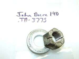 John Deere 140 Kohler K321 14hp Engine Crankshaft Nut