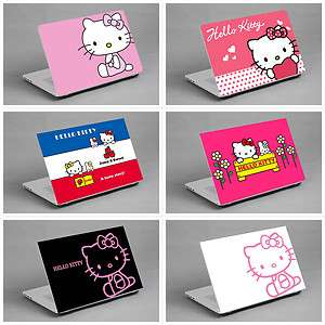 LAPTOP NOTEBOOK SKIN STICKER COVER DECAL VINYL KITTY buy 3 get 1 free