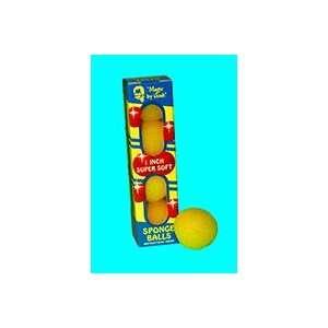 Sponge Balls 1 SS YELLOW   Close Up / Magic Trick Toys & Games