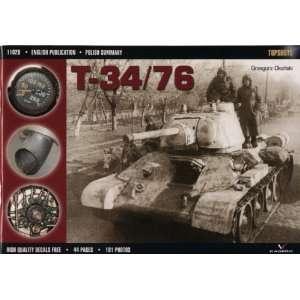 T 34/76 (Topshots) (9788360445167): Grzegorz Okonski: Books
