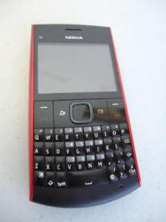 Nokia X2 01 Unlocked GSM Mobile Cell Phone   U.S. Version (Red)