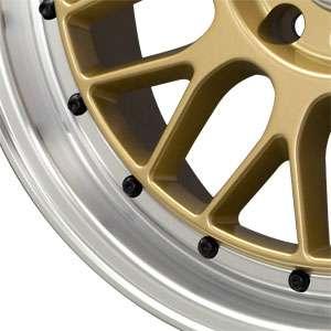 New 15X8.25 4 100/4 114.3 Drag Dr44 Gold Machined Lip Wheels/Rims