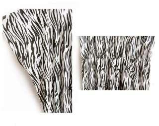 New Sexy Fashion Clubbing Zebra Print Mini Dress #11