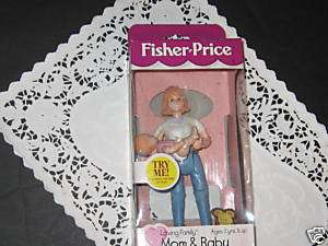 NEW Fisher Price Loving Family doll house Mom figure can hold her Baby