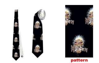 New Necktie Neck Tie Iron Maiden Metal Rock   NT006