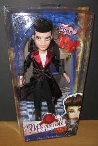 Bratz Boyz Penn Masquerade Doll MGA Moxie Boys Sealed