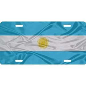 Rikki KnightTM Argentina Flag Cool Novelty License Plate