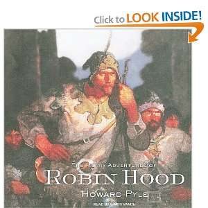 Robin Hood Howard Pyle, Simon Vance 9781400147052  Books