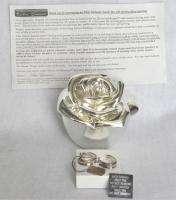 Lori Greiner Jewelry Box Safekeeper Sterling Earrings
