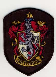 Gryffindor patch Harry Potter House TOP QUALITY