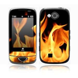 Flame Design Protective Skin Decal Sticker for Samsung