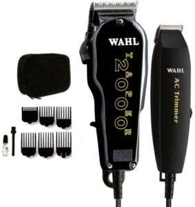 TAPER 2000 HAIR CLIPPER + AC TRIMMER ESSENTIALS COMBO 8329 HAIRCUT KIT