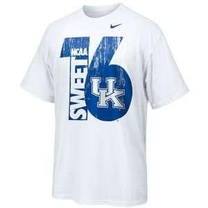 Nike Kentucky Wildcats White 2010 NCAA Mens Basketball