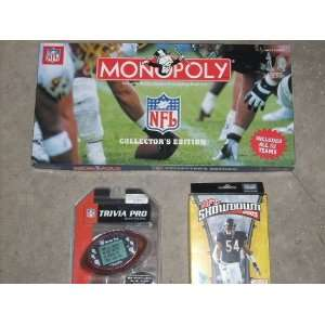 Collection of (3) NFL National Football League MONOPOLY