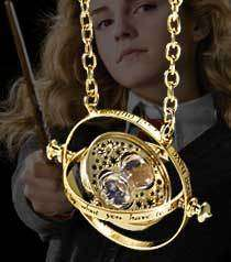 Harry Potter Hermione 24k Gold TIME TURNER NECKLACE Noble Wizarding