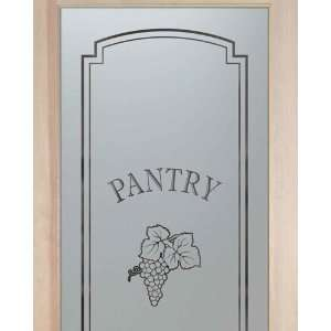 Glass Pantry Door 2/0 x 6/8 French 1 Lite Doors Graoes Cluster Solid