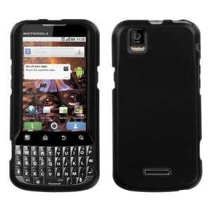 Rubber Black Hard Case Phone Cover Motorola XPRT MB612
