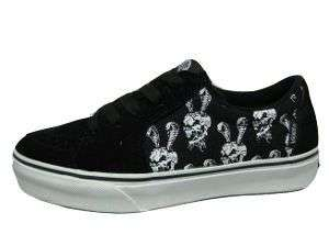 Mens Skate Shoes 8.5 11 (NEW) Snakes Skulls Black TAKA HAYASHI
