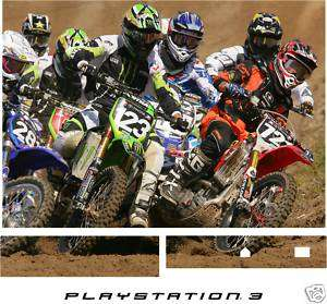 PS3   MOTOCROSS MOTO X   Vinyl Skin Sticker Decal UK