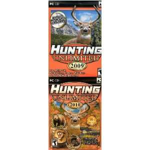 Hunting Unlimited Double Pack! 2009 & 2010 PC: Software