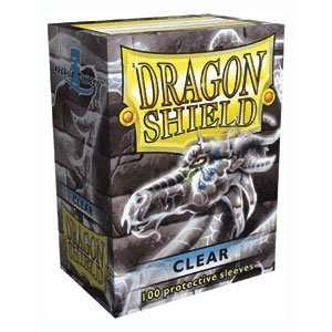 Dragon Shield Sleeves   CLEAR   Standard Size Deck