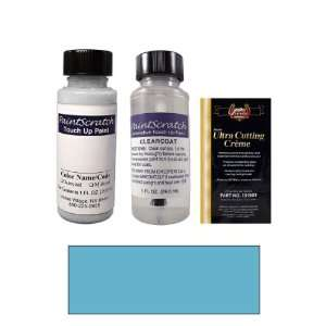Oz. Medium Blue Metallic Paint Bottle Kit for 1994 Mitsubishi Mirage