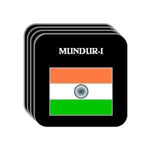 India   MUNDUR I Set of 4 Mini Mousepad Coasters
