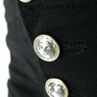High Waist Big Plus Size Moleton Jeans Bermuda Short Pants Stretch 3