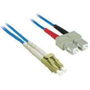 CABLES TO GO 1m LC/SC Duplex 62.5/125 Multimode Fiber Patch Cable BLUE