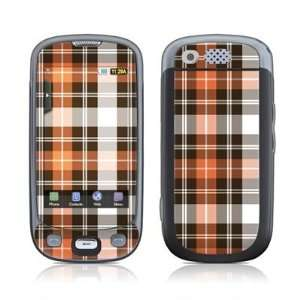 Copper Plaid Design Protective Skin Decal Sticker for