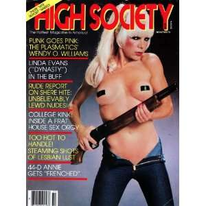 High Society Magazine November 1981 Vol. 6 No. 6 (Vol. 6