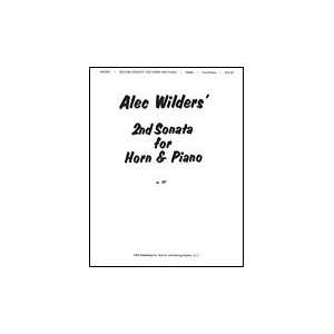 Alec Wilder Sonata No 2 For Horn And Piano Composer WILDER