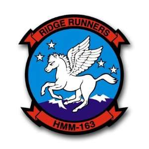 US Navy HMM 163 Squadron Decal Sticker 5.5 Everything
