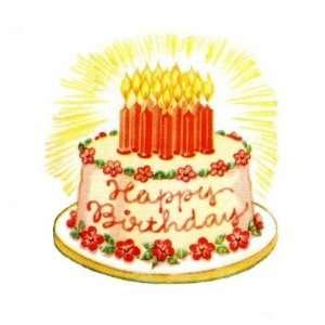 dancing birthday cake clip art on PopScreen