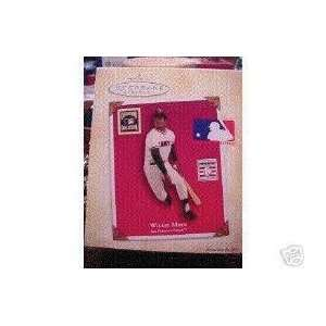 2004 Willie Mays San Francisco Giants Hallmark Ornament