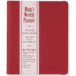 2012 Red Moms Weekly Planner (18 month Calendar