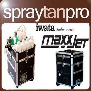 Iwata Max Jet Pro compressor Spray Fake tan Machine Kit