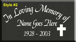 17 IN LOVING MEMORY OF VINYL DECAL STICKER 31 STYLES*
