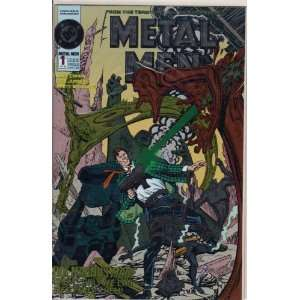 Metal Men #1 First Issue Comic Book