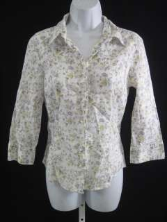 BABY DOLL Marcos Floral Print Shirt Top Sz 4