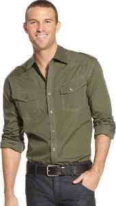 Marc Ecko Cut & Sew HERO Button Down shirt XL XXL NEW