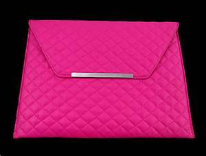 Leather Sleeve Case Cover Bag Pouch for iPad 2 1 3 ipad3 Rose Pink P62