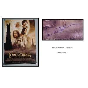 Ian Mckellan Autographed/Hand Signed Lord Of The Rings