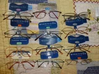 Magnivision Foster Grant Reading Glasses Mens Wire Framed & Aviator