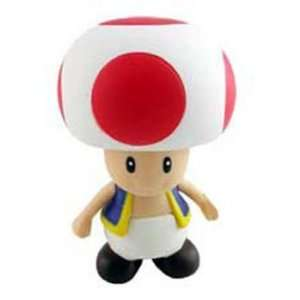 Super Mario Brother 4 Inch Figure Toad Toys & Games