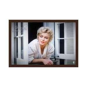Marilyn Monroe Window Framed Poster