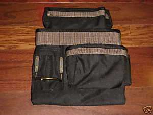 Rooster 6 Pocket Nail & Tool Bag 1 Hammer Loop